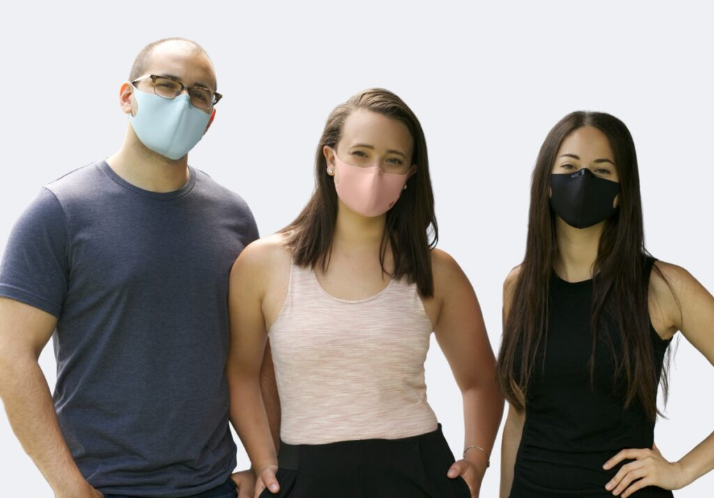 Mighty Well | Mighty Well Mask | reusable, everyday face mask | anti-microbial mask | mask with nose clip | anti-odor mask