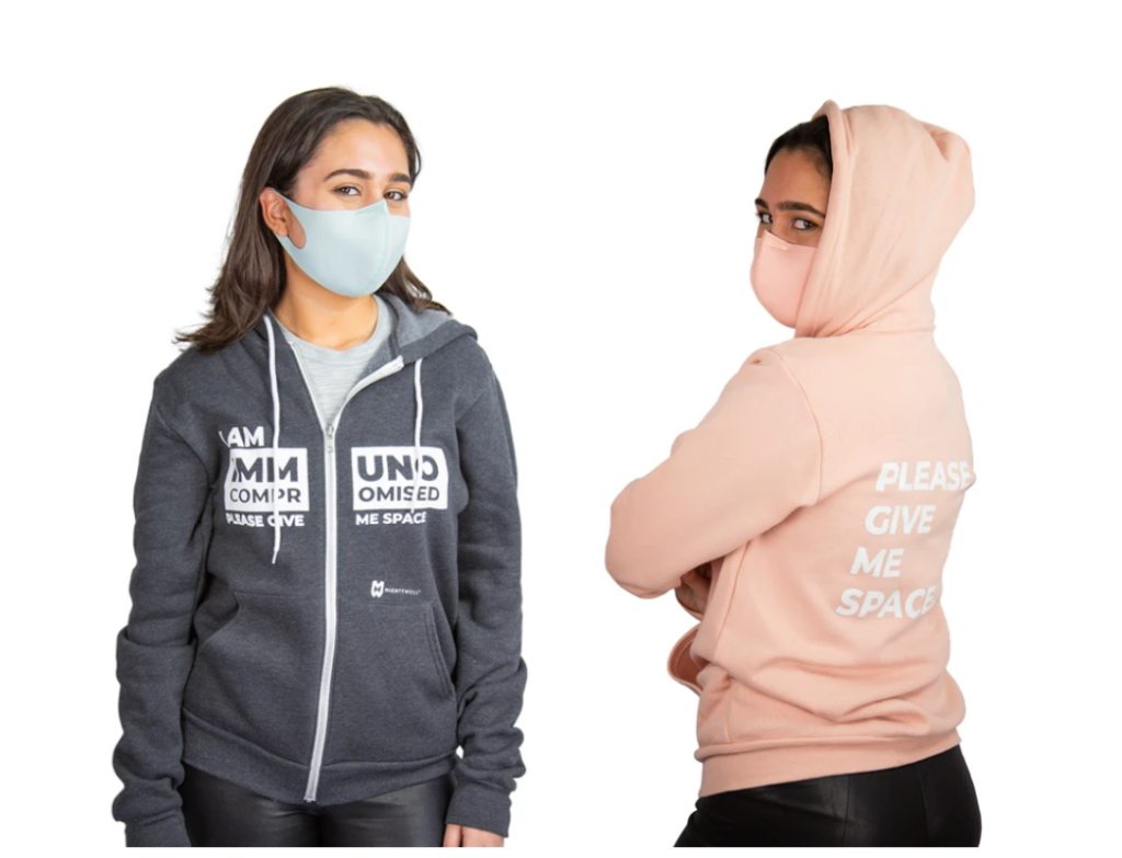 Mighty Well | Mighty Well Mask | Immunocompromised Full Zip Hoodie